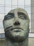 PARIS, FRANCE - FEBRUARY 2012: Sculpture of artist Mitoraj Stock Photos