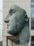 PARIS, FRANCE - FEBRUARY 2012: Sculpture of artist Mitoraj Royalty Free Stock Images