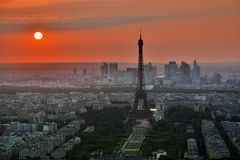 Paris, France, French, Eiffel Tower Stock Photo