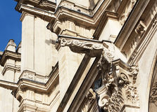 Paris, France, gargoyles in Notre Dame Cathedral. Royalty Free Stock Image