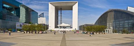 PARIS FRANCE Grand Arch. Business district Stock Photography