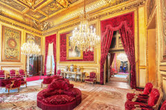 PARIS, FRANCE - JULY 03, 2016 :  Apartments of Napoleon III. Lou Stock Images