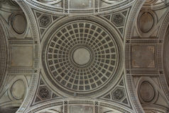PARIS, FRANCE - July, 19, 2011: Dome of Pantheon. Royalty Free Stock Photos
