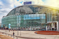 PARIS, FRANCE - JULY 06, 2016 :La Defense, Business Quarter with Stock Images