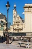 Saint-Etienne-du-Mont Church in Paris. France royalty free stock photo