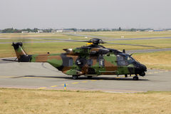 French Army NH Industries NH90 Caiman helicopter Royalty Free Stock Photography