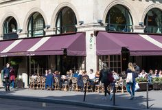 Free Paris, France-June 09 2016- The French-Russian Cafe Restaurant Pouchkine Located At Madeleine Place In Paris, France. Stock Images - 118101024