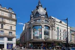 Free PARIS, FRANCE - JUNE 23, 2017: View Of The Bazar De L`Hotel De Ville Or Le BHV Marais. Is A Department Store On Rue De Rivoli In Stock Photo - 157702690