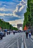 Paris, France, June 2019: Arc de Triomphe de l`Etoile stock images