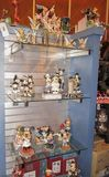 Paris, France; June 16, 2011; Beautiful figures of the different disney characters for sale to collectors stock images