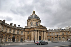 PARIS, FRANCE- JUNE 7, 2011: The classical building of  The Institut de France Stock Photos