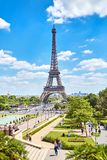 Paris, France - June 19, 2015: Eiffel Tower royalty free stock photography