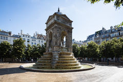 Paris, France - June 23, 2014: Fountain Of The Innocents. Stock Photography