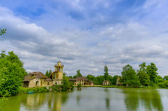 Paris, France - June 1, 2015: The Queens Hamlet, Versailles, built as a leisure retreat for her majesty Stock Photography