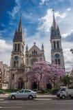 Paris france Kościół święty Ambroise na bulwarze Volta zdjęcie royalty free