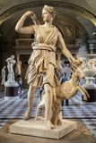 Paris, France, le 28 mars 2017 : Statue d'Artemis dans le Louvre, Paris Rebecca 36 Artemis - en mythologie de grec ancien photo libre de droits