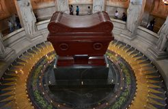 Les Invalides, Tomb of Napoleon Bonaparte. Paris, France, 9 Aug 2018. stock photos