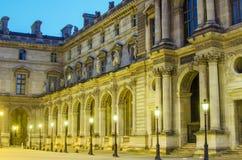 Paris (France). Louvre museum Stock Photography
