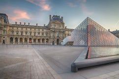 Paris (France). Louvre museum Royalty Free Stock Image