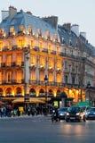 Boulevard Saint Michel in Paris Royalty Free Stock Images