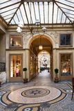 Galerie Vivienne - passage in Paris Stock Image