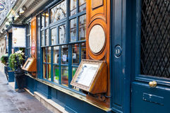 Historical Cafe Procope in Paris Royalty Free Stock Photography