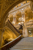 Paris, France, March 31 2017: Interior view of the Opera National de Paris Garnier, France. It was built from 1861 to Stock Photos