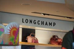 Longchamp store royalty free stock photo