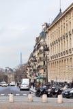 Place du Pantheon in Paris Stock Images