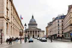 View of Pantheon, Paris Royalty Free Stock Images