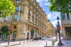 Paris, France - May 1, 2017: Beautiful architecture on Champs-É. Paris, France - May 1, 2017: Beautiful architecture on Champs-Élysées Avenue on a Stock Image