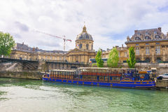 Paris, France - May 1, 2017: The scenery of ancient architecture Royalty Free Stock Photo