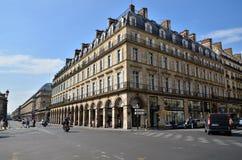 Paris, France - May 13, 2015: Tourists visit the center of Paris Stock Images