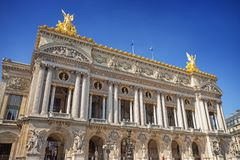 Opera Garnier in Paris Stock Photography