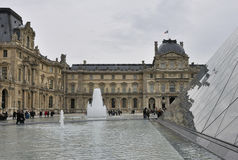 Paris - France Musee du Louvre Royalty Free Stock Image