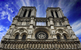 Paris - France Notre Dame Royalty Free Stock Images