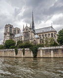 Paris france Notre-Dame De Paris Obrazy Royalty Free