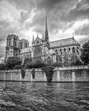 Paris france Notre-Dame De Paris Fotografia Royalty Free