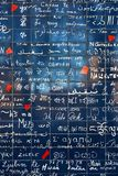 Paris, France - Nov 2017: Wall of love is an art piece installed in north Paris. stock photos