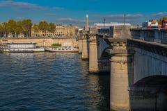 Bridge over the Seine Stock Photos
