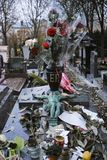 Pere Lachaise Cemetery, PARIS, FRANCE stock photo