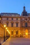 PARIS, FRANCE – 29 NOVEMBER, 2014: Louvre Stock Images