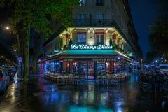 PARIS, FRANCE - 24 NOVEMBRE 2015 : Café de Champ de Mars de le à Paris, franc Image stock