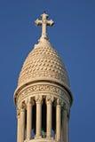 PARIS, FRANCE - 27 NOVEMBRE 2009 : Détails de la basilique du coeur sacré de Paris (Sacre-Coeur) Images libres de droits