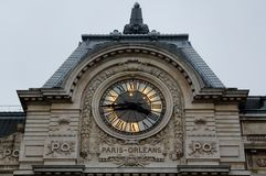 Paris, France - 29 novembre 2013 - Musee d'Orsay Photos stock