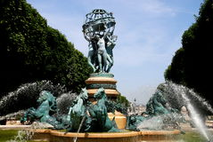 Paris, France: Observatory Fountain Stock Photos
