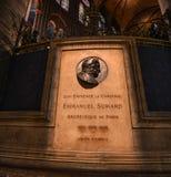 Memorial of Emmanuel Suhard royalty free stock photo