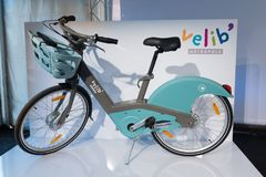 New Paris Velib Royalty Free Stock Images
