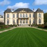 Paris france posiadłości muzeum rodin. Zdjęcie Stock