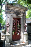 Paris, France: Rossini Mausoleum Stock Photography
